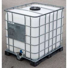 Plastová nádrž na vodu IBC 1m3