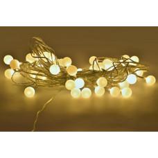 Dekorativní teplé žluté osvětlení
